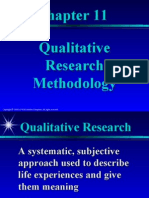 Chapter11 Qualitative Research Methodology