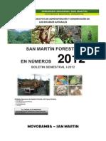 San Martin Forestal en Numeros 2012