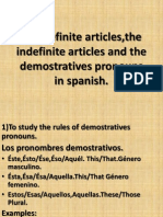 Copy of the Definite and Indefinite Articles.