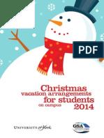 Christmas Programme 2014