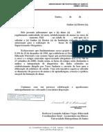Carta de Apresentacao Leonardo