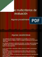 Mét0dos Multicriterios de Evaluación Actualizado