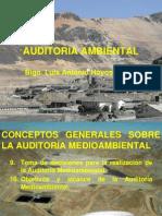 Auditoría Ambiental. Conceptos Generales