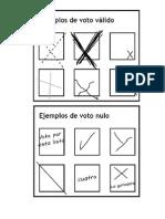 6.Formato de Votos Válidos e Inválidos
