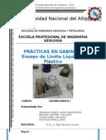 Geomecanica - Ensayo LL-LP
