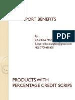 Export Benefits