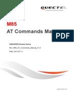 M85 at Commands Manual V1.0