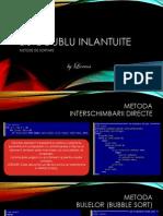 Liste Dublu Inlantuite - Metode de Sortare