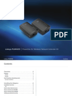 Linksys PowerLineAV400 us