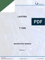 Instructivo t1500 v1.0r
