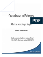 ASPE Guesstimates Estimates