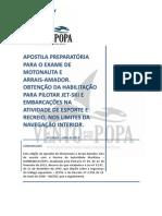 APOSTILA PREPARATÓRIA - Exame de Motonauta e Arrais-Amador