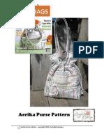 aerika purse pattern