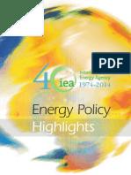 IEA - Energy Policy Highlights