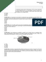 Exercícios Anlise de Gráficos e Porcentagem