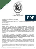 Tsj Regiones - Decisión Bono de Desempeño