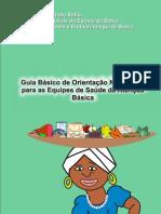 Guia de Orientação Nutricional para as Equipes de Saúde
