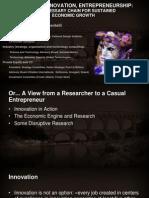 Research, Innovation, Entrepreneurship