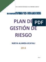 Plan de gestión riesgo 2014 -NUEVA ALIANZA-OCTUBRE.docx