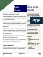 Checklist Intro