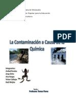 La Contaminación a Causa de La Quimica