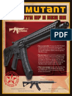 CMMG MK47 Mutant Black Rifle Details