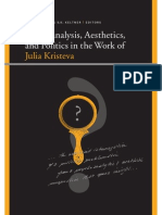 Kelly Oliver, S. K. Keltner-Psychoanalysis, Aesthetics, And Politics in the Work of Julia Kristeva (Insinuations Philosophy, Psychoanalysis, Literature)