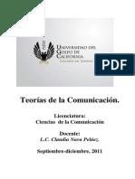 COMPENDIO Teorías de La Comunicación