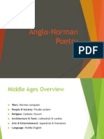 Anglo Norman Poetry