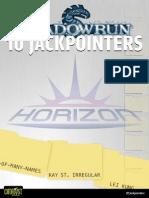 Shadowrun 4E - 10 Jackpointers