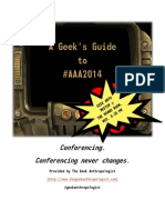 A Geek's Guide to #AAA2014