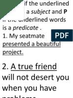 Subject & Predicate Pres. 2-June 25'14