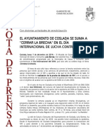 141201 Np- Día Del Sida 2014