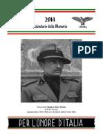 Calendario Memoria 2014