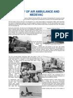 history of air ambulance and medevac