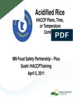 411 Acid Rice