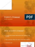 nutr 4100 crohns disease project