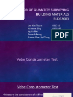 Concrete Vebe Test
