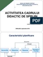 Planificare Activ CDS