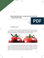 Parametros de Calidad en El Tomate Para Industria