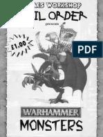 Warhammer Monsters Catalogue 1996