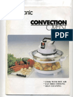 Decosonic Convection Oven Manual