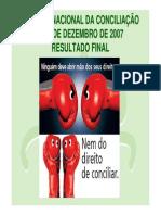 2007-Semana Conciliacao 2007