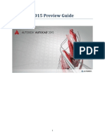 AutoCAD 2015 Preview Guide