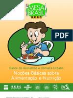 Cartilha Noções Basicas para Alimentação e Nutricão