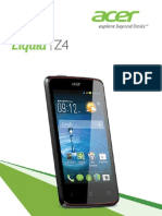 Acer Liquid Z4-160 User Manual