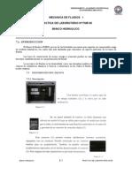 Practica Nº 00 FME 00 Banco Hidráulico EDIBON SA