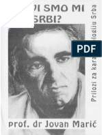 Prof Dr Sci Jovan Maric Kakvi Smo Mi Srbi