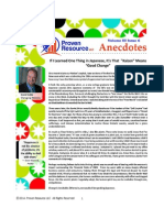 Proven Resource Newsletter Anedcotes - Early Winter 2014