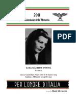 Calendario Memoria 2011